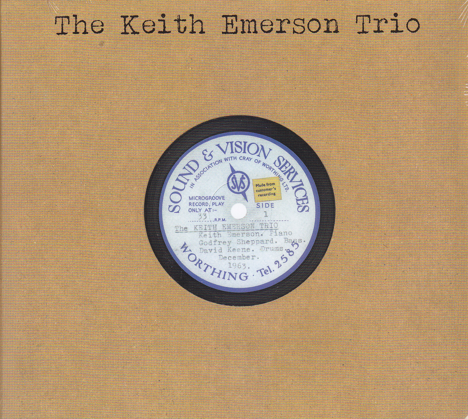 Emerson, Keith Trio - Sound & Vision Services