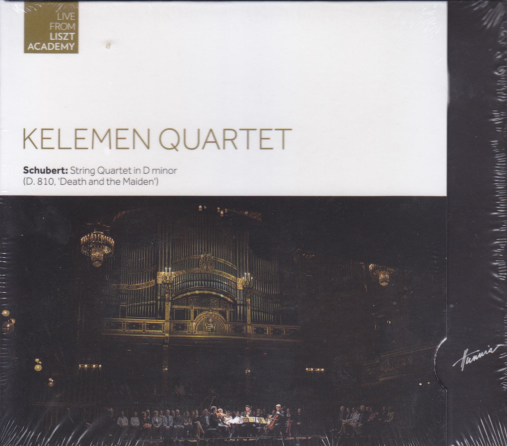 Kelemen Quartet - Schubert: String Quartet in D Minor (D.810. Death and the Maiden)