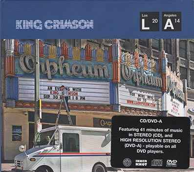 King Crimson - Live at the Orpheum (CD+DVD-audio)